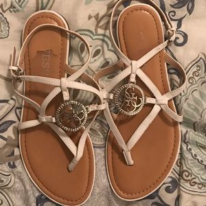 Guess sandals.  Size 8.  Great condition!!